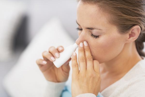 Congestión nasal severa después de usar afrin