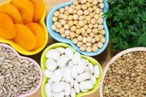 Alimentos vegetarianos para mejorar la hemoglobina