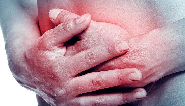 una hernia hiatal puede causar dolor en la ingle