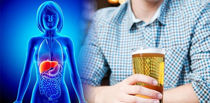 Qué le sucede al cuerpo durante una insuficiencia hepática