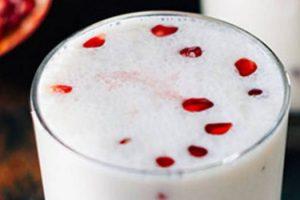 Beber Lassi es bueno para su salud