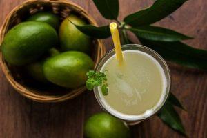 Beneficios para la salud del jugo de mango inmaduro o Aam Panna