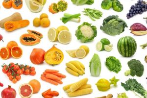 Dieta de color 5 colores de frutas y verduras que debe incluir en su dieta