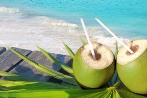 Por qué es beneficioso beber agua de coco