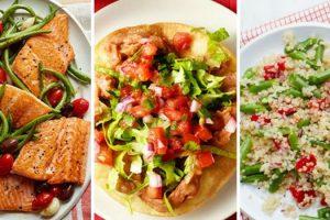 Qué comer en una dieta cardíaca para el almuerzo y la cena