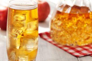 Valores nutricionales y calorías de la sidra espumosa