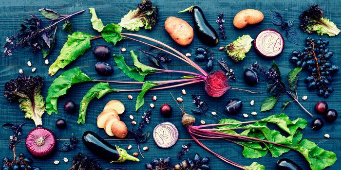 alimentos morados para incluir en su dieta